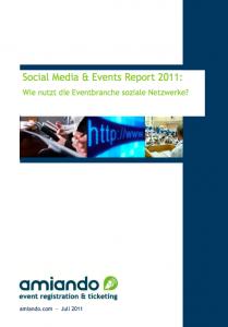 Social Media & Events Report 2011 downloaden/pdf