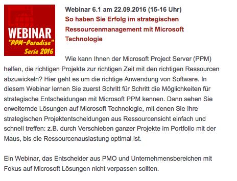 So haben Sie Erfolg im strategischen Ressourcenmanagement mit Microsoft Technologie